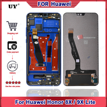 """""""6.5"""""""" Original Display For Huawei Honor 8X Display Touch Screen Digitizer For View 10 Lite For 9X Lite Replacement Parts JSN-L22"""""""