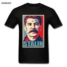 USSR Stalin T-shirt Cool Men's