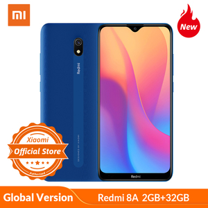 "Global Version Xiaomi Redmi 8A smartphone 2GB 32GB 5000mAh high capacity battery 6.22"" display 12MP AI Primary camera 18W charge(China)"
