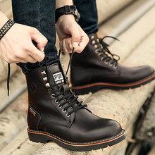 2020 новые ботинки martin мужские кожаные теплые дезерты рабочая