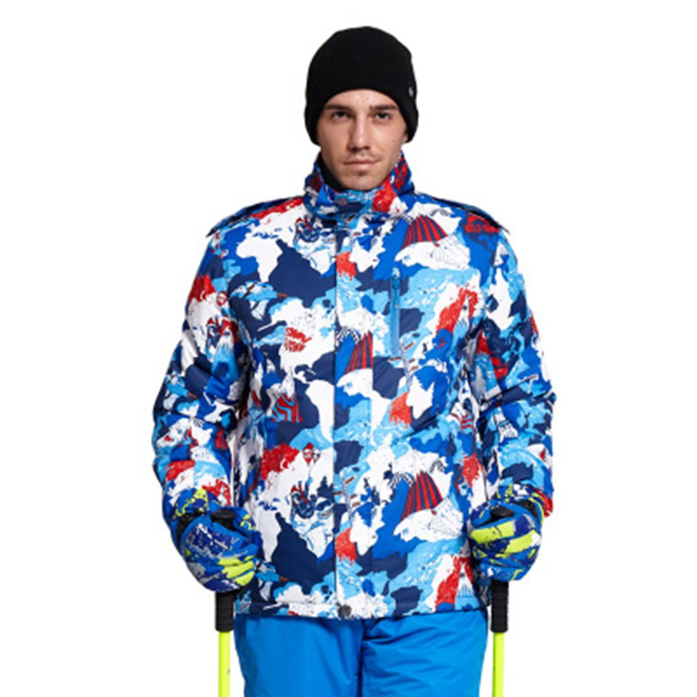 2018 New Fashion Ski Jacket Waterproof Windproof Warm Outdoor Wear For Skiing Snowboarding For Men