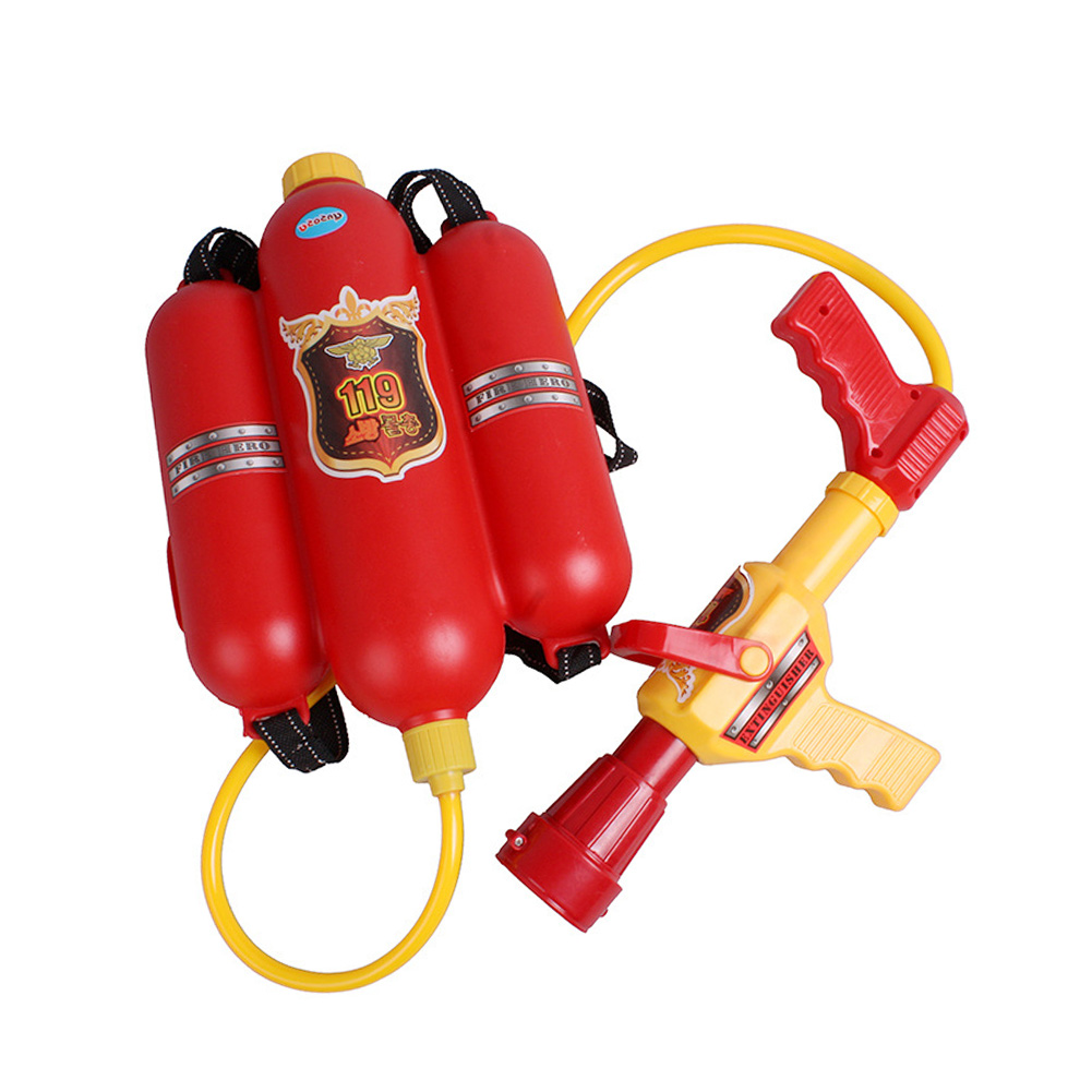 Fireman Toy Water Guns Sprayer Backpack For Children Kids Summer Toy Party Favors Gift High Quality