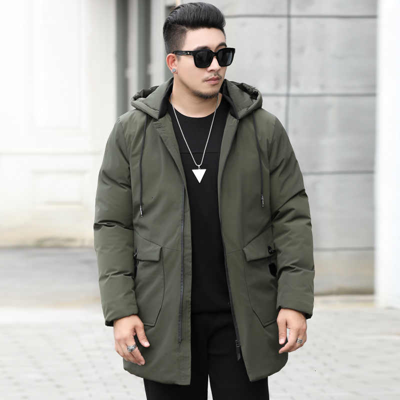 10XL 6XL 5XL 남성 롱 다운 자켓 코트 럭셔리 브랜드 겨울 솔리드 블랙 파커 남성 플러스 사이즈 두꺼운 따뜻한 슬림 피트 남성 오버 코트