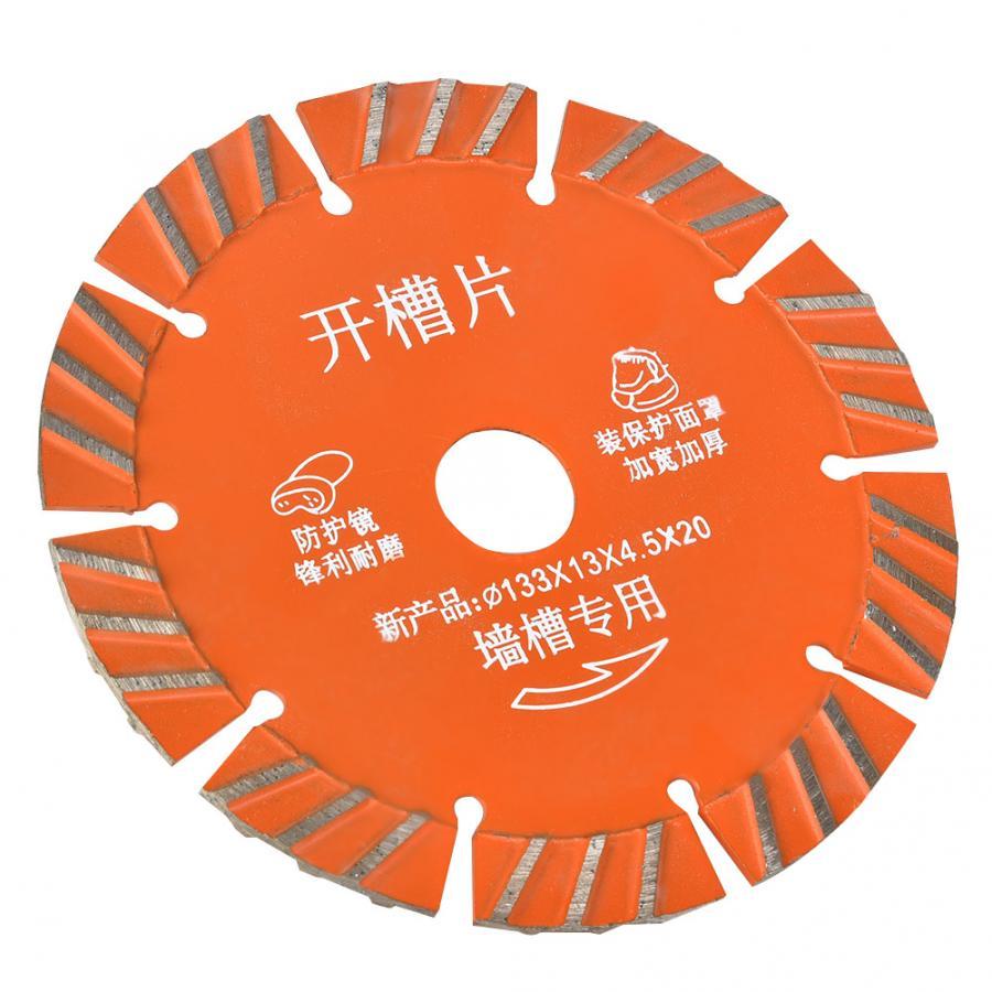 Wood Cutting Disc 5pcs 133mm Diamond Circular  Cutting Disc For Concrete Ceramic Granite Cutting Tool