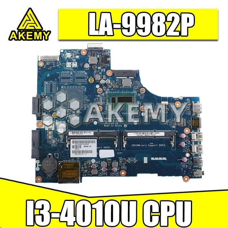 LA-9982P материнская плата для ноутбука For DELL Inspiron 15R 5537 3537 оригинальная материнская плата I3-4010U