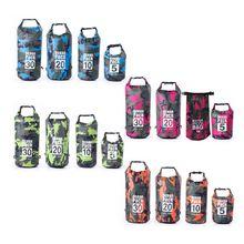4 Colors Waterproof Dry Bag for Women Men, 5L/10L/20L/30L Roll Top Lightweight