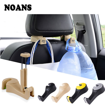 NOANS 1pcs Multifunction Car Back Seat Mobile Phone Frame Storage Hook For BMW E36 F30 F10 E30 X5 Ssangyong Volvo XC90 V70 XC60 image