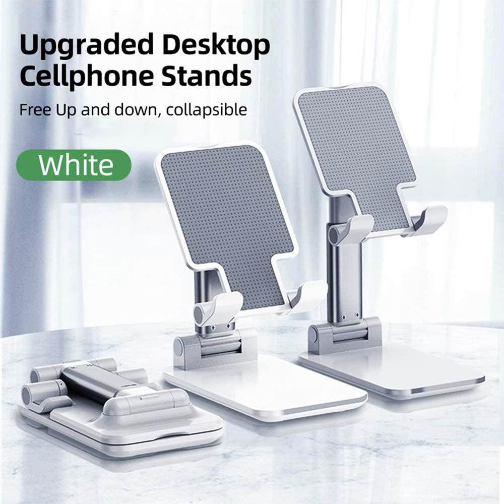 Metal Desk Mobile Phone Holder Stand For IPhone IPad Xiaomi Adjustable Desktop Tablet Holder Universal Table Cell Phone Stand