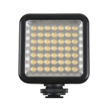 цена на Mini DC 3V 5.5W 49 LED Video Camera Light Panel Lamp 6000K for Canon Nikon DSLR Camera Camcorder DVR DV