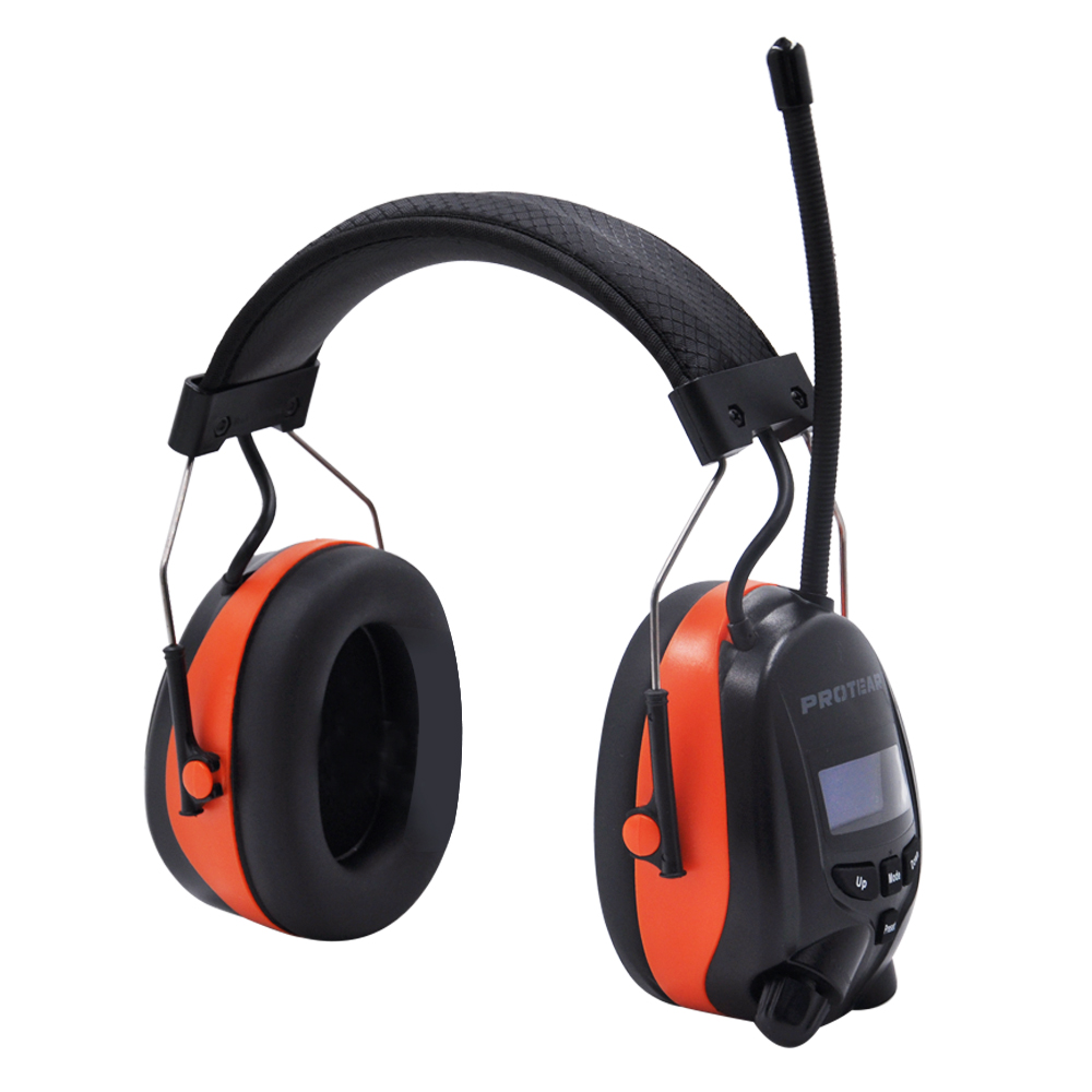 Image 2 - Protear DAB+/DAB/FM Radio Hearing Protector 25dB Lithium Battery Earmuffs Electronic Bluetooth Headphone Ear Protection-in Ear Protector from Security & Protection
