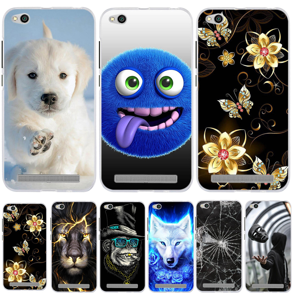 Case For <font><b>Xiaomi</b></font> <font><b>Redmi</b></font> 6A <font><b>4A</b></font> 5A Case Cover Silicone Coque For <font><b>Xiaomi</b></font> <font><b>Redmi</b></font> 5 Plus Case Tpu Fundas For <font><b>Xiaomi</b></font> <font><b>Redmi</b></font> 6A Case Cover image