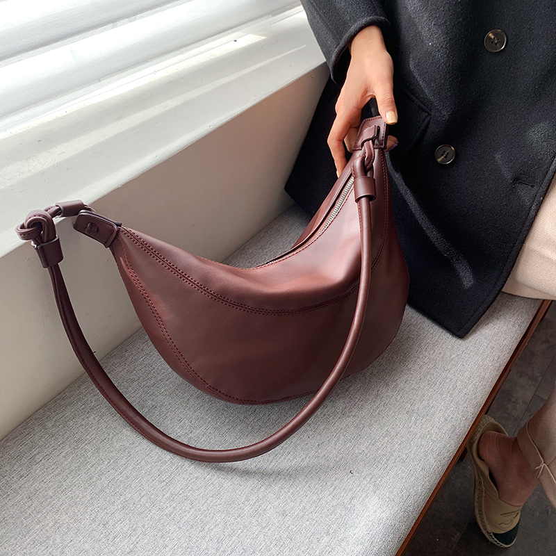 Casual Crossbody Bags For Women 2020 Soft Totes Shoulder Bag Large Capacity Messenger Pack Travel Chest Pack Female Bag Leather