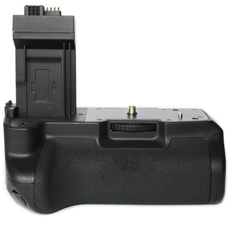 Nieuwe Pro Vertical Battery Grip Pack Houder Voor Canon 450D 500D 1000D Xs Xsi T1i BG-E5 & 2 Stuks Batterij houder