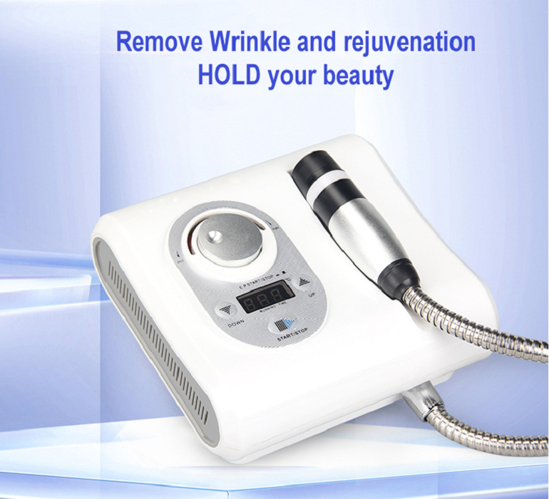 NEW 2 in 1 Cryo No Needle Electroporation Meso Mesotherapy Skin Cool & Hot Facial Anti Aging Skin Care Beauty Machine