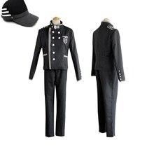 Danganronpa V3 Killing Harmony Saihara Shuichi костюм супердетектива для косплея + шляпа