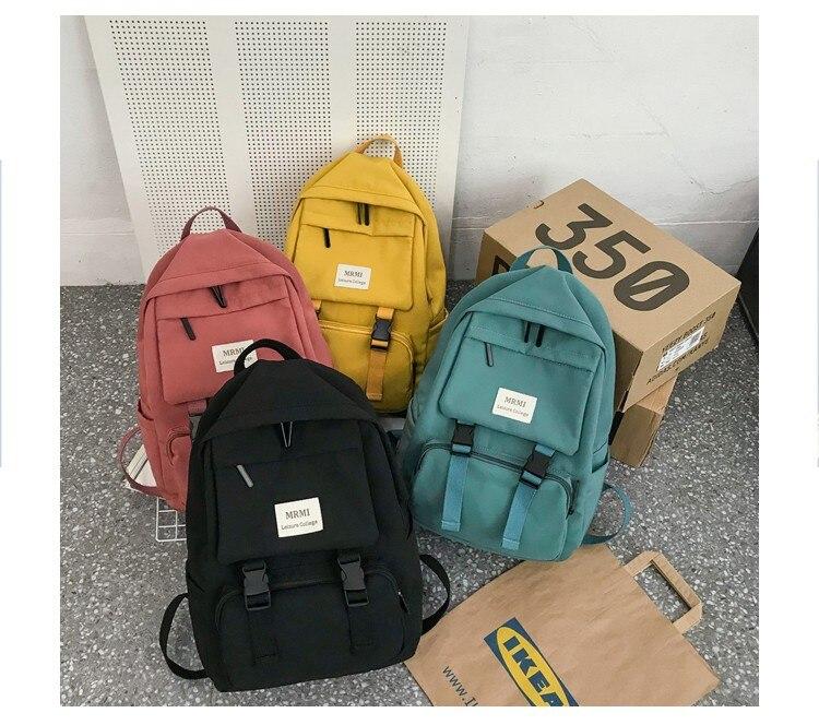 mochila feminina saco de escola para adolescente