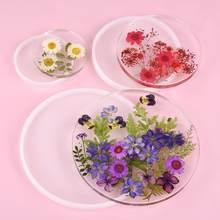 Kare dikdörtgen şekli Coaster taban silikon kalıp reçine kalıpları epoksi UV DIY reçine zanaat ev dekorasyon el yapımı araçları