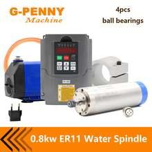 Шпиндель с водяным охлаждением 05 кВт 800 Вт шпиндель 4 диаметр