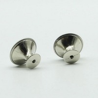 30PCS Stainless Steel Alloy Cabinet Pulls Single Hole Drawer Pulls Small Furniture Pulls #