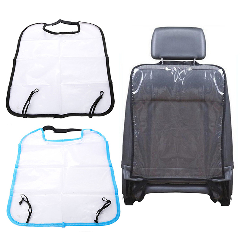1Pc 58 Cm * 44 Cm PVC / Plastic Seat Cover Protector For Kids Baby Kick Mat Mud Clean Dirt Decals Car Auto Seat Kicking Ma