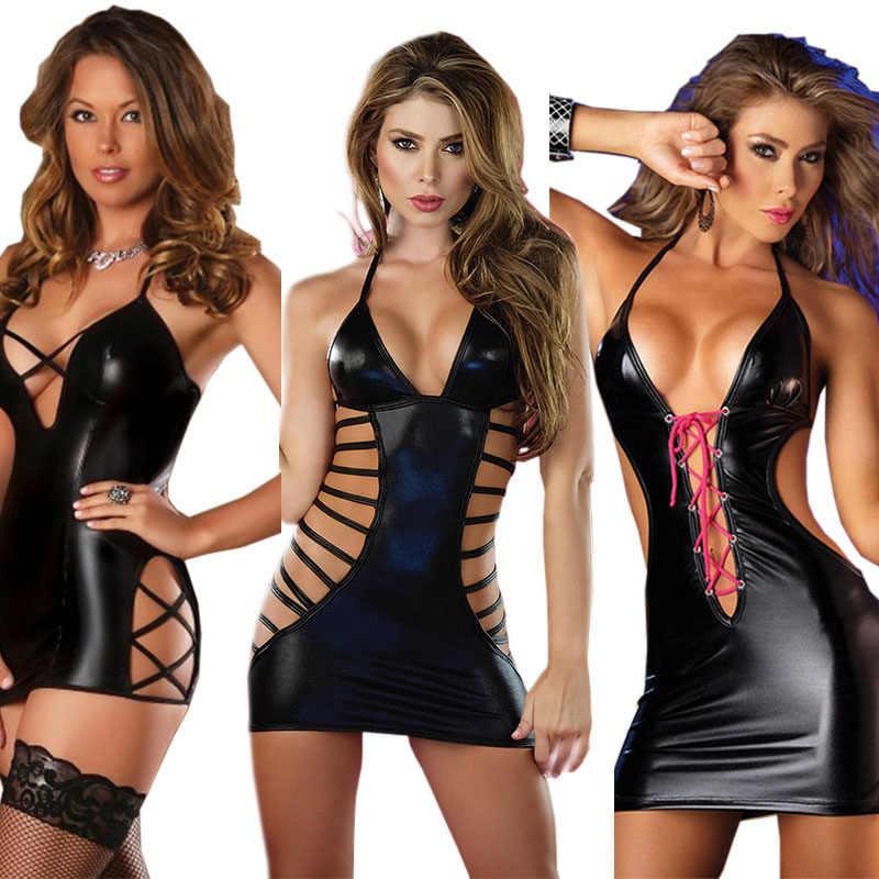 สื่อลามกชุดชั้นในเซ็กซี่ผู้หญิง Babydoll ชุดชั้นในหนังเร้าอารมณ์ Porno ชุดชั้นในชุดชั้นในเร้าอารมณ์ชุดเสื้อผ้าเต้นรำ Clubwear