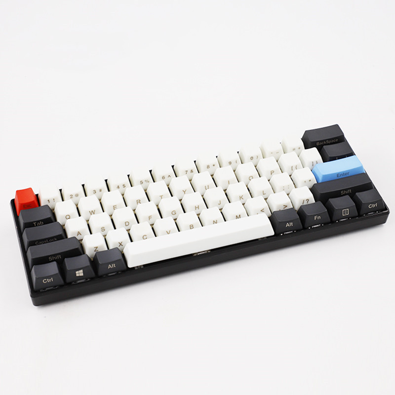 61 Keycap OEM Matte Texture 60% Mechanical Keyboard Special Keycap Suitable Cherry Switch For GH60 GK61 Anne61 F60 Ganss61