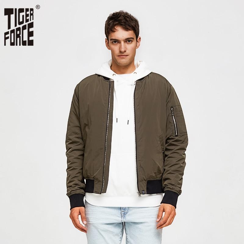 Tiger siły mężczyźni bombowiec kurtka męska wiosna kurtka wiatrówka moda kamuflaż mężczyźni płaszcz us Army Military męskie odzież wierzchnia Plus rozmiar w Kurtki od Odzież męska na  Grupa 1