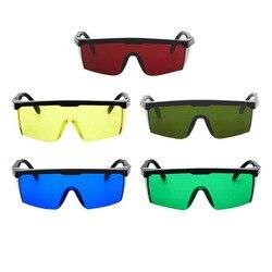 Laser Protect okulary ochronne PC okulary spawalnicze okulary laserowe gogle ochronne Unisex czarne oprawki okulary odporne na światło w Okulary ochronne od Bezpieczeństwo i ochrona na