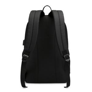 Image 5 - AJAX Student School Backpack Teenage Girl Boys Bookbag USB Anti theft Laptop Canvas Waterproof Backpack for Men