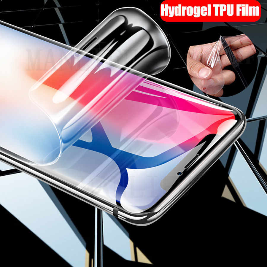20D Front Back Silicone Soft TPU Film For Apple iPhone XS Max XS XR X 8 7 6s 6 Plus Full Screen Protector Hydrogel  Sticker Film