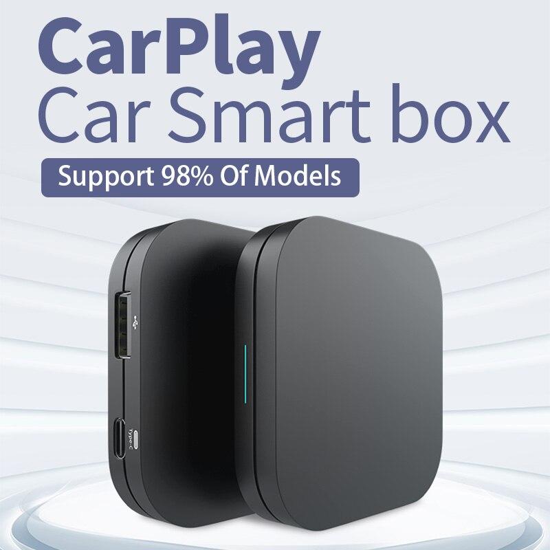 JIUYIN беспроводной Apple CarPlay для Audi Mercedes Porsche vw Volkswagen Ford Peugeot Toyota Honda Opel IOS 14 адаптер автоподключения