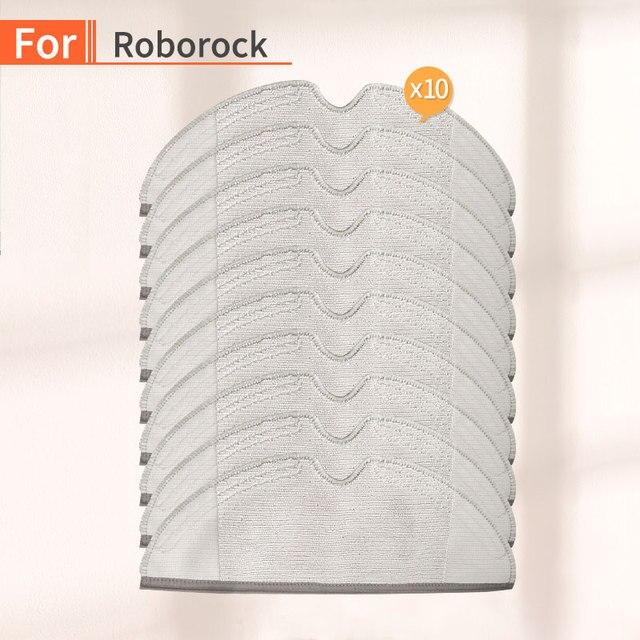 10PCS Vacuum Cleaner home Cleaning Cloth Accessories for xiaomi mijia mi 1S 2S roborock s50 s55 s51 Robot Vacuum  Parts