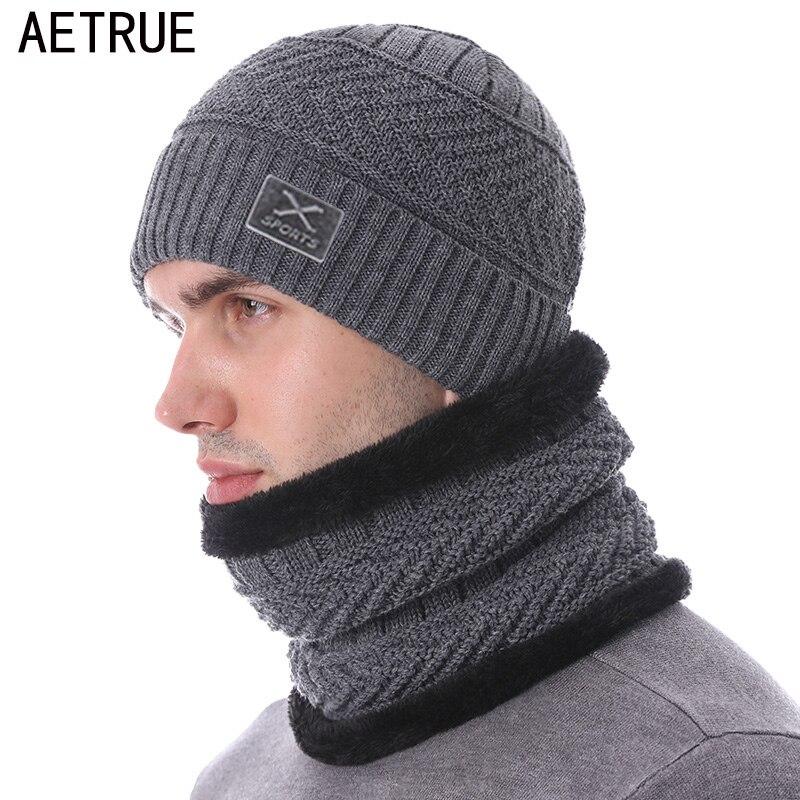 Brand Skullies Beanies Men's Winter Hats For Men Scarf Knitted Hat Cap Winter Beanie Hat Beany Male Homme X Gorro Bonnet Caps