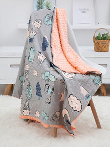 Blanket Quilt Peas Baby for Baby-Carriage Stroller Covers Beanie Soft Breathable Kids