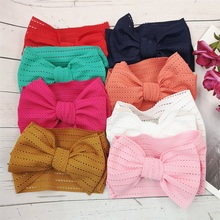 Headwraps Hair-Accessories Turban Photo-Props Lace Knot Toddler Newborn Baby-Girls 20pcs/Lot