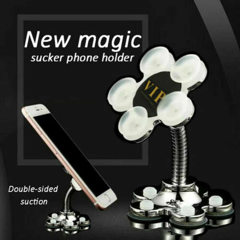 Rotatable Multi-Angle Double-Sided Phone Holder 360 Degree Portable Suction