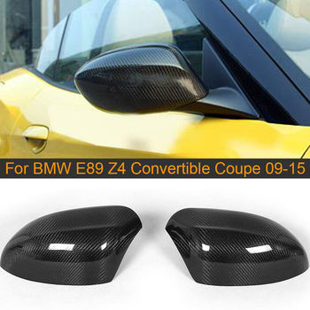 Carbon Fiber Side Mirror Cover Caps for BMW E89 Z4 Convertible Coupe 2009-2015 20i 28i 35i 30i Rearview Mirror Covers Cap Add On image