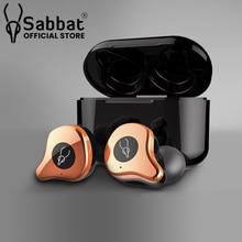 Sabbat E12 Cực Ánh Kim Loạt Thực Sự Không Dây Tai Nghe Chụp Tai Qualcomm Tai Nghe Bluetooth 5.0 Hai Tai Stereo HiFi
