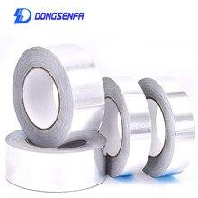 5cm 20m Aluminium Foil Adhesive Sealing font b Tape b font High Temperature Resistant Heat font