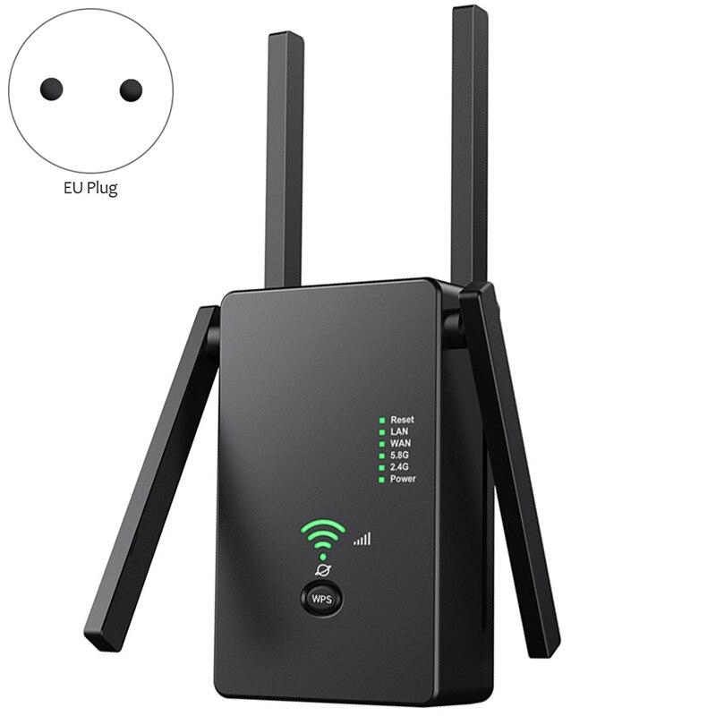 2.4g 5g wi-fi extensor ap roteador amplificador