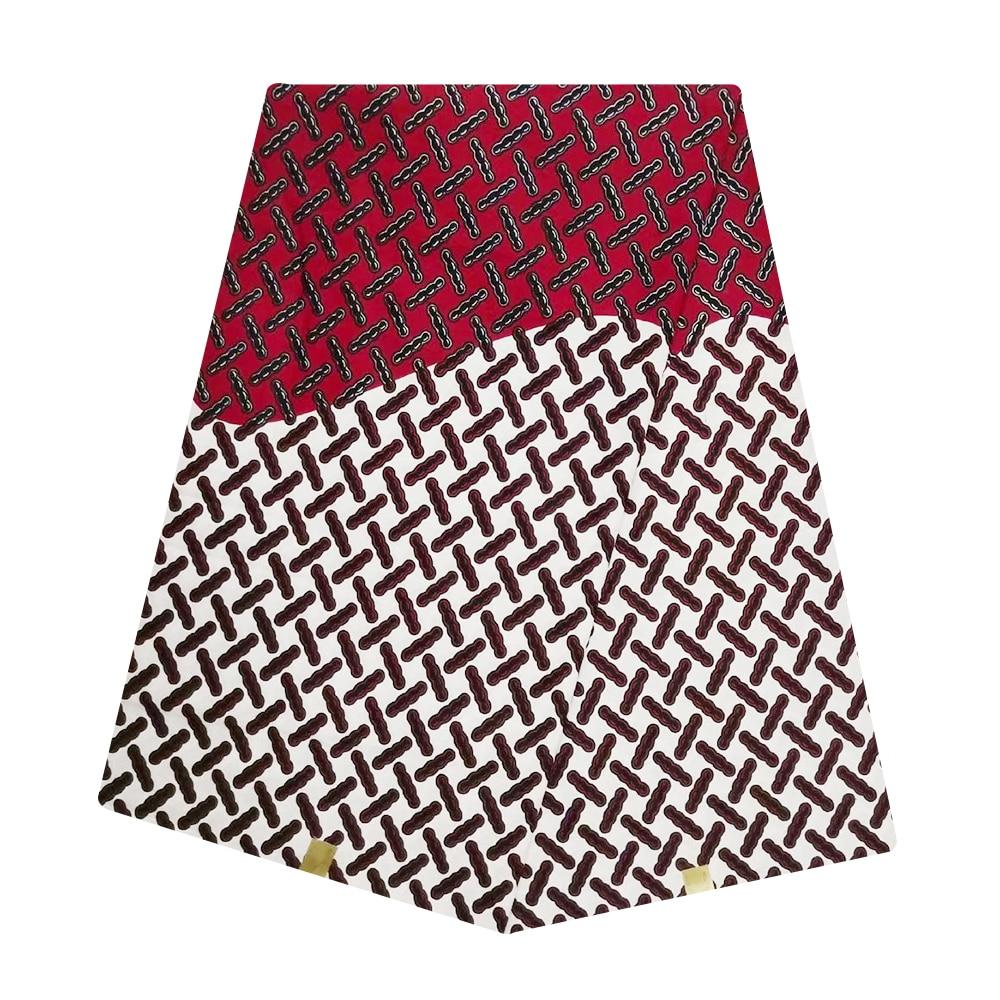 Guaranteed Real Dutch Wax High Quality 100% Cotton Pagne African Wax Ankara Nigerian Ghana Fabrics For Sewing Indonisia Batik