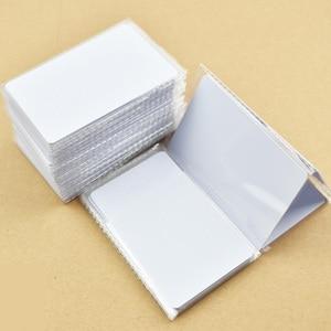 Image 3 - 1000 Cái/lốc Nfc 1K S50 Mỏng Nhựa Pvc Thẻ Cảm Ứng RFID 13.56MHz ISO14443A Thẻ Thông Minh Phục Đán Chip Chống Thấm Nước