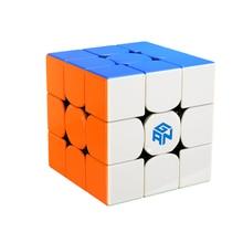 Yeni GAN 356 R S 3x3 küp profesyonel hız küp bulmaca sihirli küp 3x3 küp gan 356rs eğitici oyuncaklar oyuncaklar için çocuk oyuncakları GAN 356 R S 3x3 cube Professional speed cube gan 356 cube get free lube