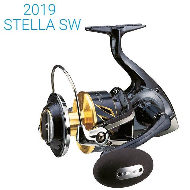 NEW 2019 Original Shimano Stella SW 8000HG 8000PG 10000PG 14000XG 14000PG Spinning Fishing Reel X ship Saltwater Made in Japan