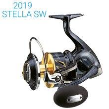Novo 2019 original shimano stella sw 8000hg 8000pg 10000pg 14000xg 14000pg molinete de pesca x navio de água salgada feito no japão