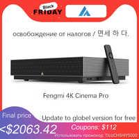 Fengmi-proyector láser 4K Cinema Pro 2400 ANSI, para cine en casa, de 8 puntos corrección trapezoidal, proyector wi-fi HDR10