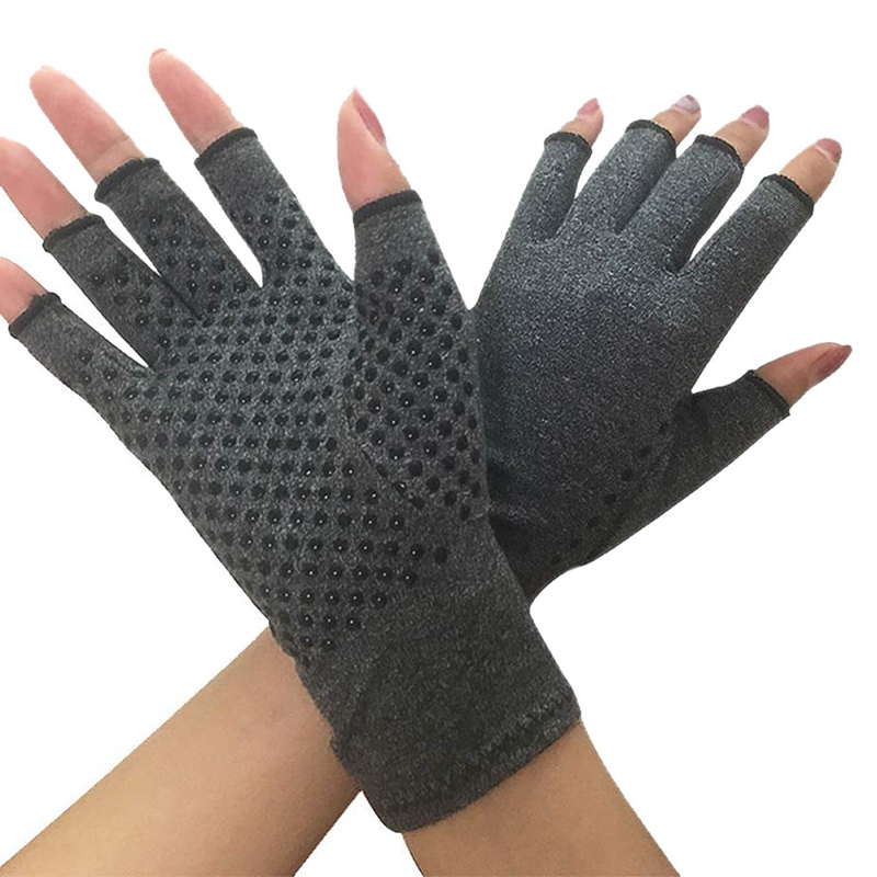 Compression Glove For Rheumatoid, Osteoarthritis - Heat Hand Gloves For Computer Typing, Arthritic Joint Pain Relief, Carpal Tun