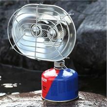 BRS-H22 бутановый уличный обогреватель портативный рыболовный альпинистский кемпинговый тент энергосберегающая газовая нагревательная плита с двумя головками