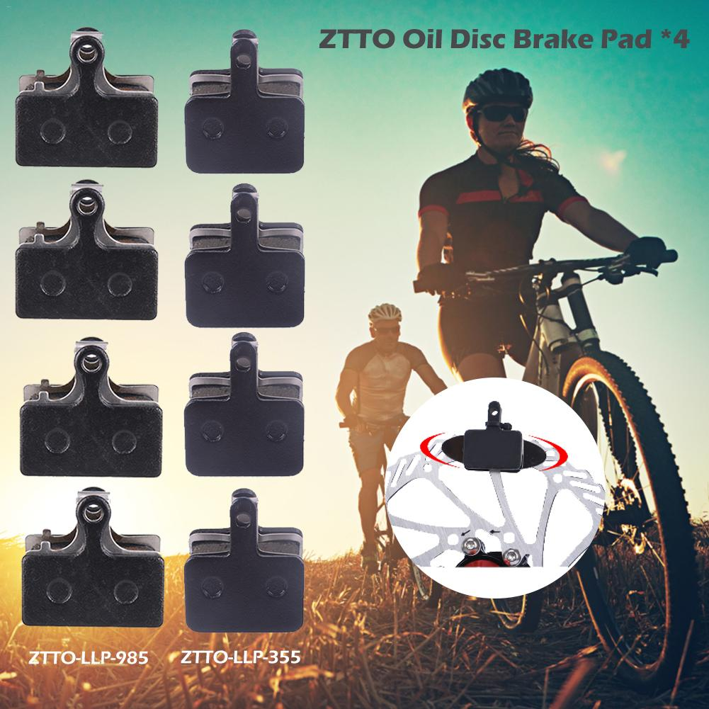 4Pcs Mountain Road Bicycle MTB Bike Disc Brake Pads Spare Parts Accessories