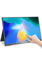 UPERFECT Portable Monitor Touchscren 15.6 Inch 1080P Mobile Display Game sRGB 100% Color Gamut Thin and Light Wide Viewing Angle
